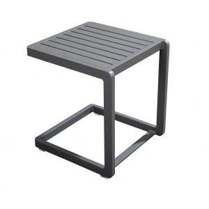 Hokan side table, 40x40, dark grey | Yoi Oisterwijk